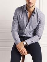 2015 NEW latest shirt designs MTM tailored dress/business cotton man shirt