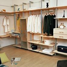 China supplier modular walk in closet, with a walk in closet, decorative laminate wardrobes