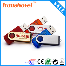 bulk swivel usb flash drive with costomized logo printing,promotional gift usb pen drive