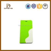 2015 Wholesale flip leather superior material with card slot mobile phone case for iphone 5