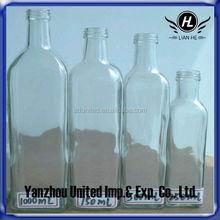 High Quality 250ml/500ml/750ml/1000ml Glass Olive Oil Bottle