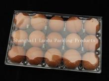 Descartável caixa de ovo de plástico Clear Blister embalagem de ovo