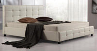 Faux Leather Double Size Bed