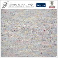Jiufan Textile Multi-color Speckled Knit Hacci Fabric TR/TC Fabric Cut and Sew Fabric