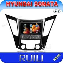 "Hyundai Sonata 8"" double din car radio dvd player with gps/bluetooth/ipod/SD/USB/MP4/MP3"