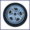 Free sample pu foam small rubber wheels for sale