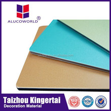 Alucoworld Fireproof A2 Grade Aluminium Composite Panel ACP/ACM awning and canopy