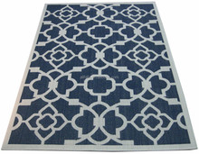 Wilton machine made pp customized outdoor rug