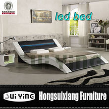 modern latest design led leather home furniture A516-1