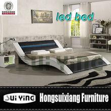 modern latest design led leather home furniture A516-1