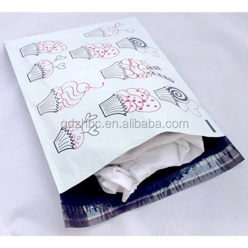 custom printed flat poly mailers bag buy flat poly