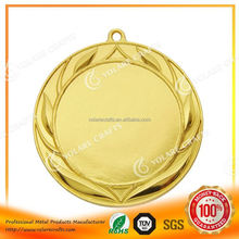 Metal Custom bronze medal for cheerleaders, fast delivery