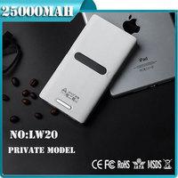 2014 best selling 20000 mah portable power bank 18000