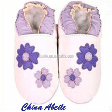 imported from china Factory outlet soft bottom 100% Genuine Leather Soft Sole Infant Shoes Design World Baby Boys Shoes