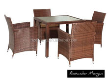 2015 the best selling Rattan dining chair and table
