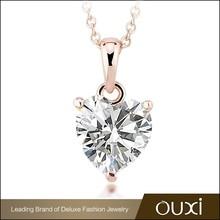 OUXI New Fashionable Jewelry AAA Zircon Jewelry China Wholesale