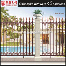 Wholesale Easy Assmbled Aluminium Fence For Home Design