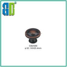 Zinc alloy kitchen handles /door brass porcelain handles