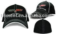 Cotton/Polyester flex fit/spandex baseball cap