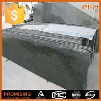 Factory Sale flamed small size Chinese green granite