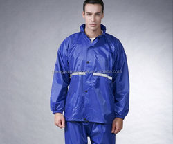 Excellent quality new products polyester pvc rain coat european hot