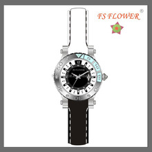 High Quality Products White and Black Two Tone Color Silicone Strap Watches Women Watches