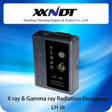 Radiography testing dosimeter LH-III for x ray flaw detector and pipeline crawler