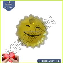 reusable magic metal disc mini flower pocket hand warmer/ hot pack, click pocket kitty hand warmer, heteromorphism heat pack