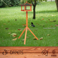 DFPets Hot Sales bird cage with outside feeder
