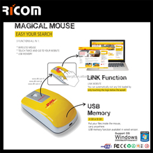 rechargeable wireless webkey mouse for gift and promotion