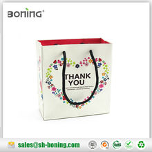 good quality Recycled paper gift bags with handles