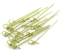 Knotted bamboo skewer 4inch