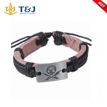 2015 TOP New Fashion popular at high quality leather bracelet