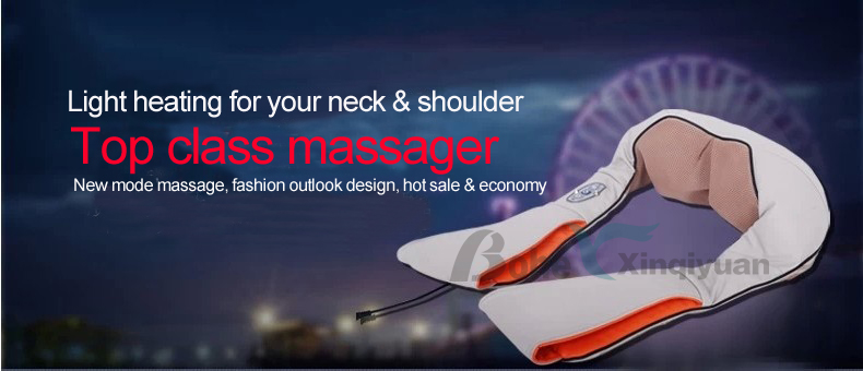 Kneading shoulder massage belt health new product personal massager china supplier