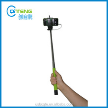 On Sale us$1.3/pc Wired Remote Monopod Wired Selfie Stick