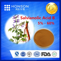 herbal medicine salvia extract root powder Salvianolic Acid B for For Protect liver / kidney