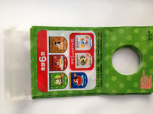 Printed toy 3 side seal gift bags for plastic botttle