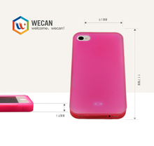 Graceful design tpu soft side cover for iphone 4 4s
