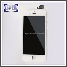Smartphone parts AAA lcd digitizer for iphone 5 with top quality