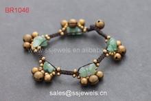 High Quality Gemstones Bracelets Green Aventurine Handmade Fashion Jewellry Wholesale China