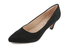 Sexy Women Pointed-toe Dress Shoes Lady High Heels Black Pumps Court Shoes Woman