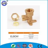 OEM copper telescopic pipe clamp tee joints