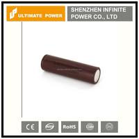 Wholasale original lg hg2 3000mah 18650 3.7v rechargeable high drain vapor batteries for best price
