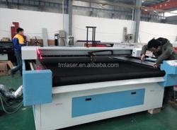 TMJG-2025 2000*2500 High Speed Fabric Laser Cutting Machine Automatic Fabric Cutting Machine Price