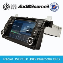 car audio capacitor with DVD CD Mp3 VCD USB Canbus Gps Map