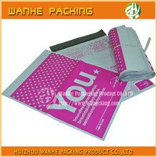 Wholesale own logo print bag custom poly envelope poly mailers plastic bag colored printed--HZWHB751