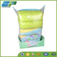 Essentials Stackable Fashion Household Easy Using Non-woven Fabric Storage Vacuum Bag For Bedding