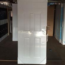 alibaba china golden supplier american steel main room door six panel pvc coated luxury american steel door glass insert