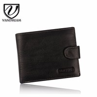 Elegant Cow leather wallets new stylish for men with Multi-function high quality M-22