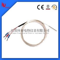 8mm dia Probe 3 wire RTD pt100 temperature sensor
